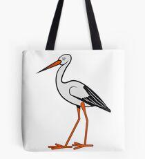 stork stupid Tote Bag