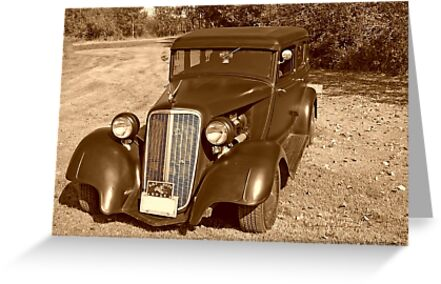 1933 Dodge Bonnie and Clyde by Vickie Emms