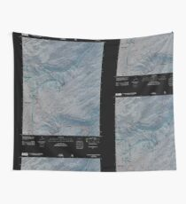 USGS TOPO Map Colorado CO Escalante Forks 20110517 TM Inverted Wall Tapestry