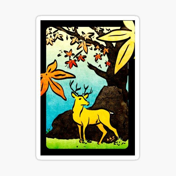 Hanami (October Maple) Sticker
