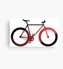 LOVE Fixie Canvas Print