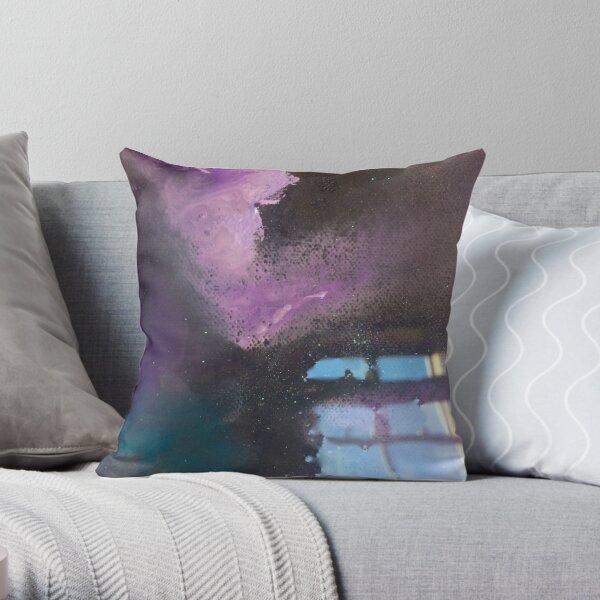 Purple mist Throw Pillow