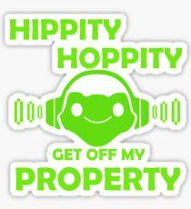 Hippity Hoppity Lucio Boop Sticker
