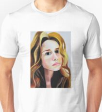 Girl with the wavy locks Unisex T-Shirt