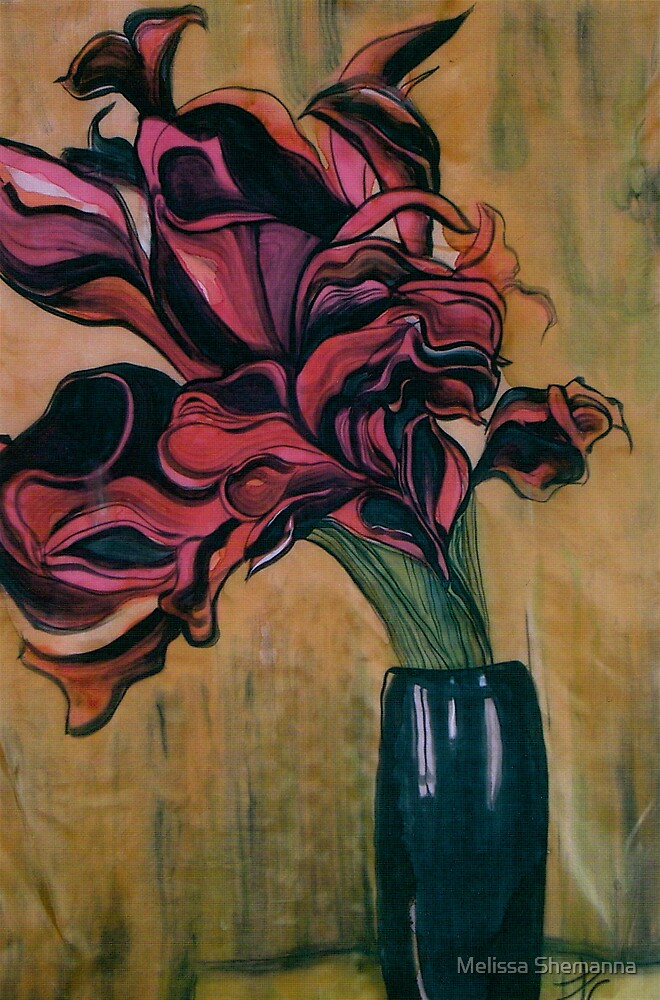 Flame flower by Melissa Shemanna