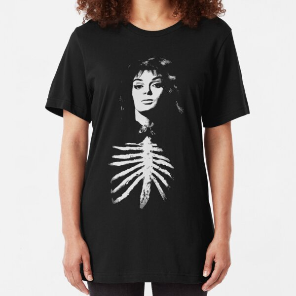 Barbara Steele - Queen of Horror Slim Fit T-Shirt