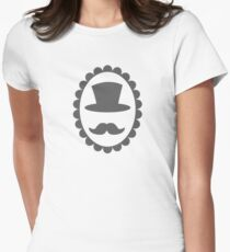 Top hat mustache man on a cameo CLASSY T-Shirt