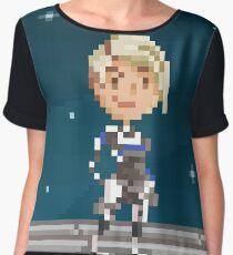 Pixel Cora Women's Chiffon Top