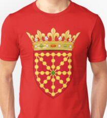 Flag of Navarre - Bandera Navarrese Unisex T-Shirt
