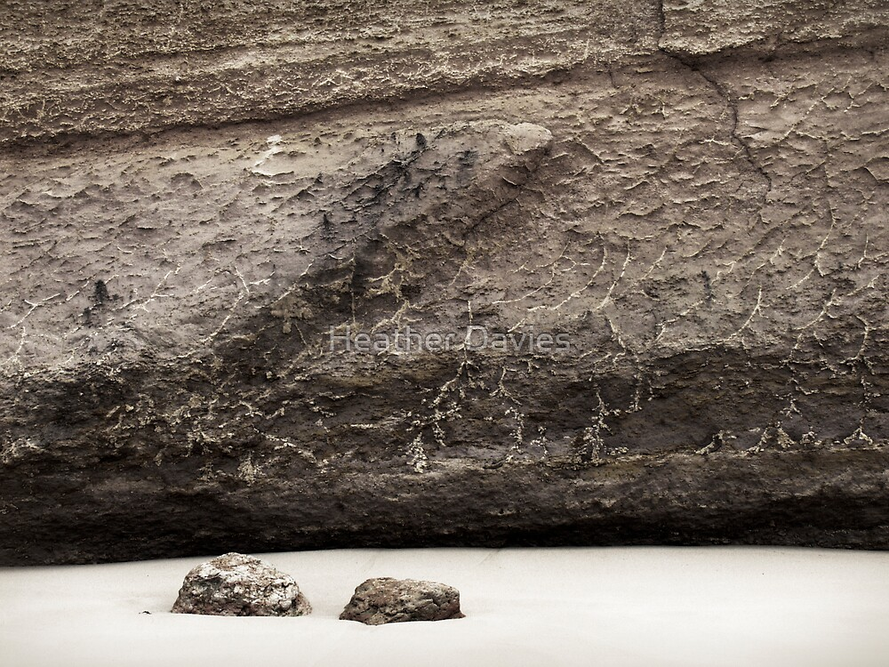 Emerging Rocks by Heather Davies