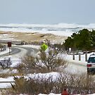Coast Guard Beach, Winter Storm by CapeCodWave