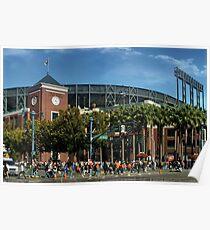 San Francisco Baseball Poster