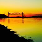 Cape Cod Canal Sunset by CapeCodWave