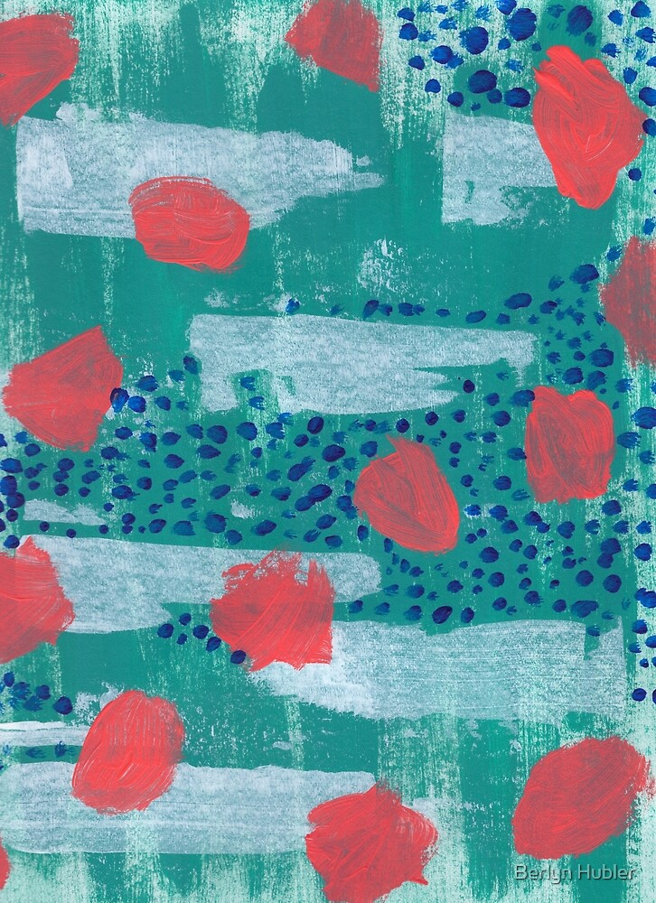 abstract coral by Berlyn Hubler