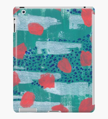abstract coral iPad Case/Skin