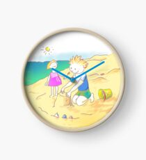 LET´S GO TO THE BEACH, KIDS! · ¡VAMOS A LA PLAYA, NIÑOS!  Reloj