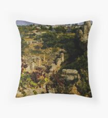 Ruins of a Time Past Throw Pillow