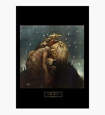 John Bauer's Scandinavian Fairies, Gnomes and Trolls Photographic Print
