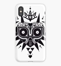 Majoras Triforce Mask iPhone Case/Skin