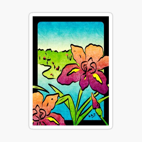 Hanami (May Iris) Sticker