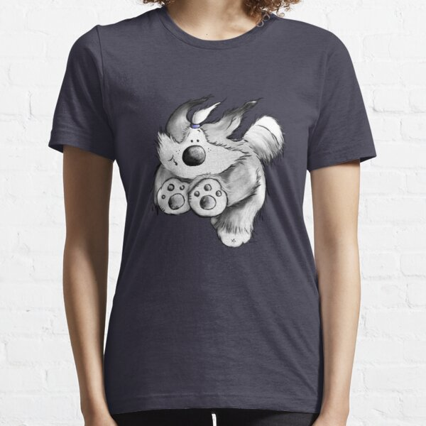 Flying Bearded Collie Essential T-Shirt