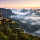 Misty Mountains by Michael Breitung