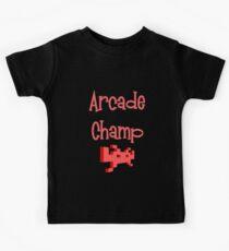 Arcade Champ by Chillee Wilson Kids Tee