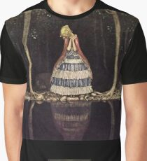 """John Bauer's Fairytale Art """"Inge By The Lake"""" Graphic T-Shirt"""