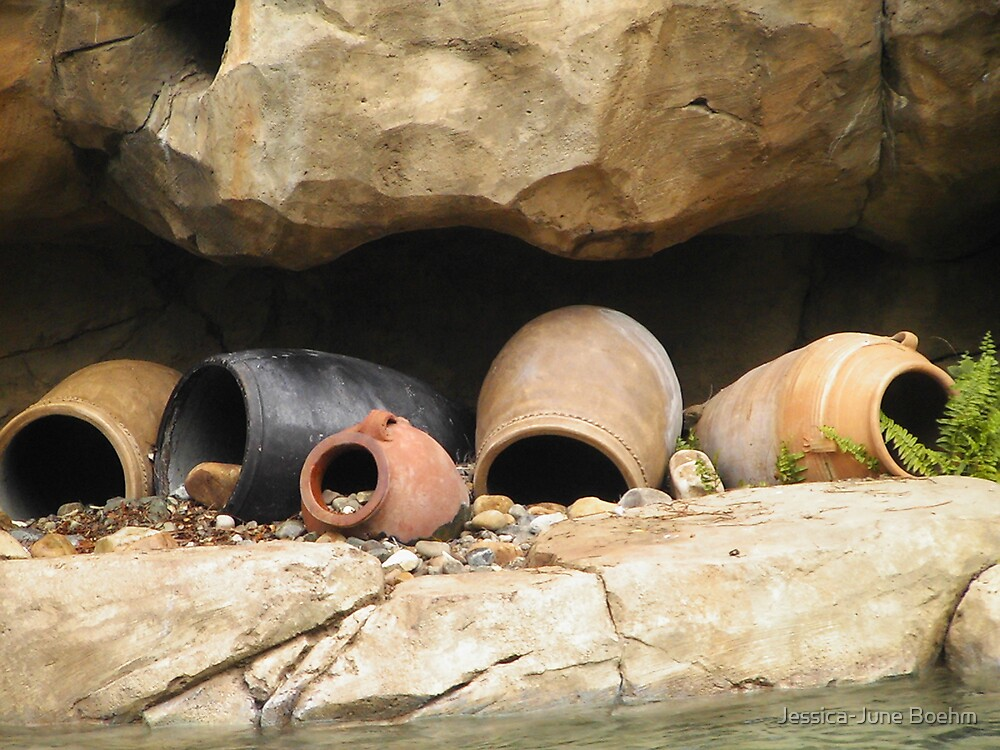 Clay Pots by Jessica-June Boehm