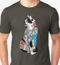 Cat in Lotus Tattoo T-Shirt