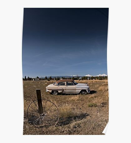 Abandoned Cheverolet  Poster