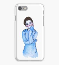 watercolor thom  iPhone Case/Skin