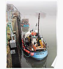 Gretel-K In The Fog - Lyme Regis Poster