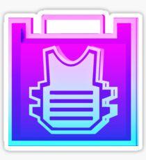 80's Rook Icon Sticker