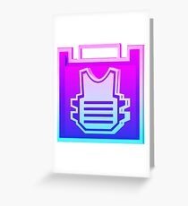 80's Rook Icon Greeting Card