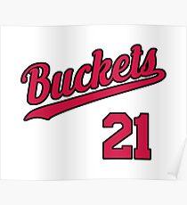 Buckets retro Script 5 Poster