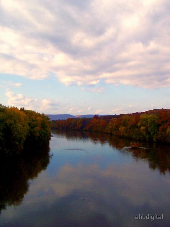 Painted River by ahbdigital