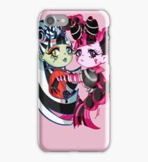 Sweet Screams - Monster High Draculaura & Frankie iPhone Case/Skin