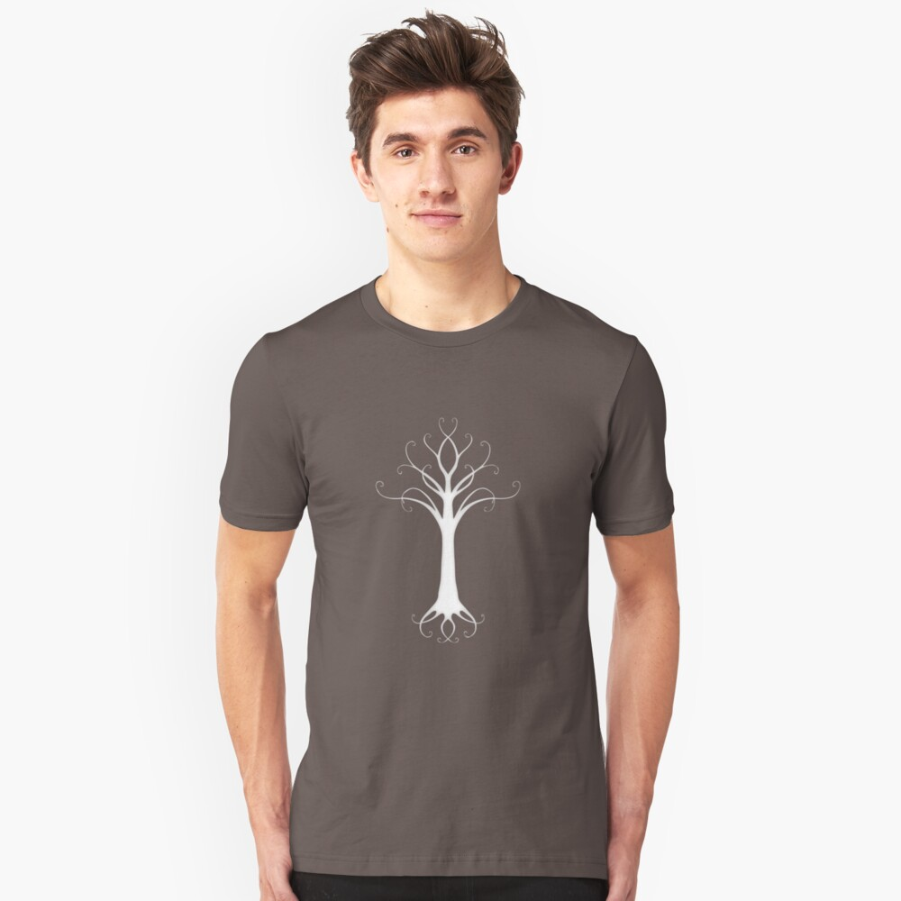 Ghost Tree Unisex T-Shirt Front