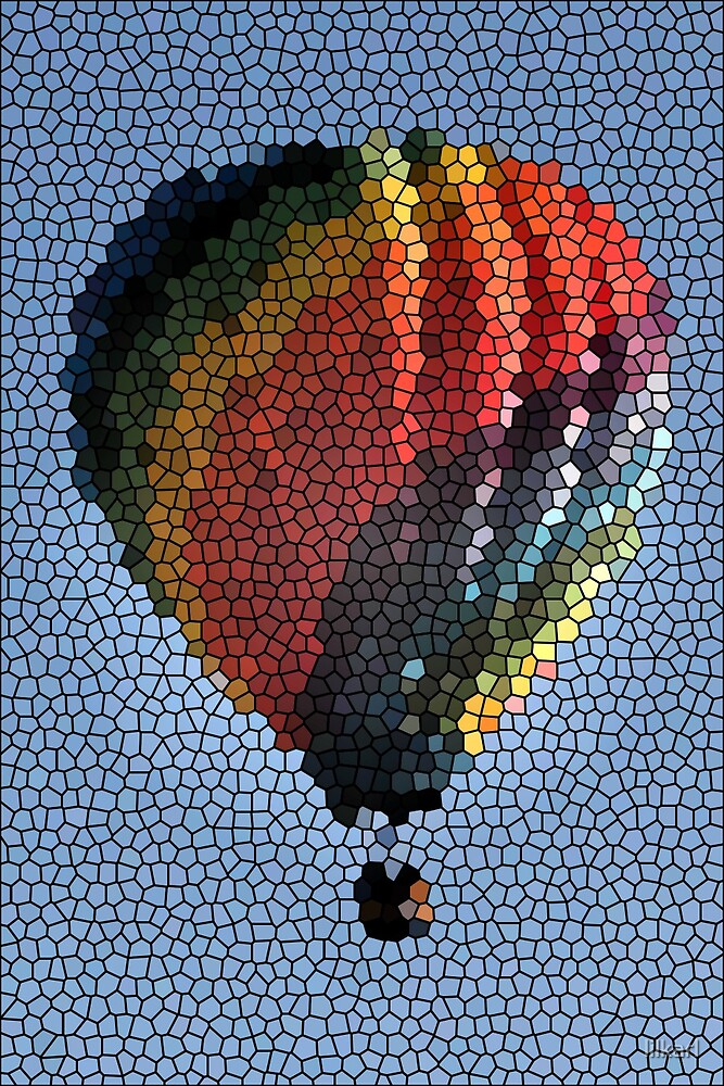 Stain Glass Balloon by lilkarl