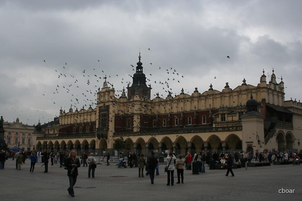 Krakow - Main square by cboar