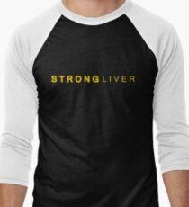 Liver strong Men's Baseball ¾ T-Shirt