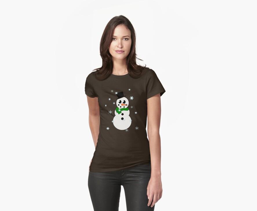 snowflake snowman by nat85