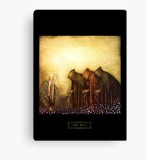 "John Bauer's Art ""The Princess And The Goblins"" Canvas Print"