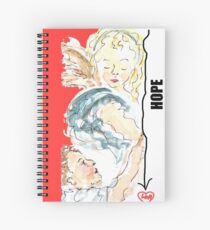 Angel of Hope Spiral Notebook
