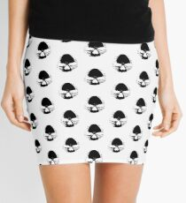 THE MIGHTY SKULL  Mini Skirt