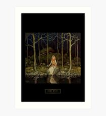 "John Bauer's Fairytale Art ""The Princess In The Forest"" Art Print"