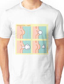 Sequential Fart comic Unisex T-Shirt