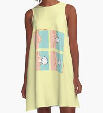 Sequential Fart comic A-Line Dress