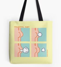 Sequential Fart comic Tote Bag